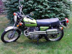 '74 Honda CL360 Scrambler by jlbruno, via Flickr
