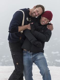 New Interview and photos of Alex & Jack Saving the Arctic!🌈 Sign the petition to Save the Arctic HERE. Jack McBrayer and Alexander Skarsgard Get Chilly For Climate ChangeThe actors, IRL friends,. Alex The Great, Skarsgard Family, Save The Arctic, Alex Pics, Warrior King, Robert Duvall, Eric Northman, Alexander Skarsgård, Man Crush Everyday