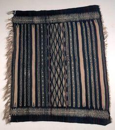 Africa | Blanket or Shawl from Algeria (Kabele?) | Wool | ca. 1941