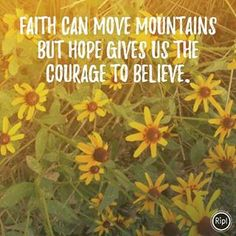 Share hope with someone today.