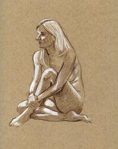 sketch by Paul Heaston