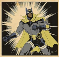 Thomas Perkins: Vintage Bat-Man....