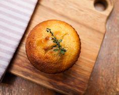 mini almond lemon thyme cakes (gluten free)