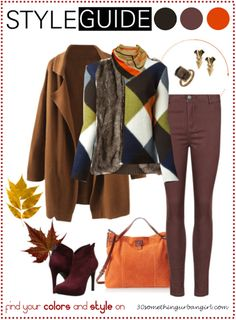 Bundle up for cold weather - outfit ideas for Deep Autumn and Deep Winter