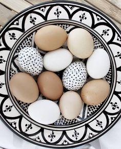 Pisanki w stylu minimalistycznym - Wielkanoc 2015
