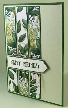 Masculine Birthday Cards, Handmade Birthday Cards, Happy Birthday Cards, Diy Birthday, Making Greeting Cards, Greeting Cards Handmade, Stamping Up Cards, Fall Cards, Paper Cards