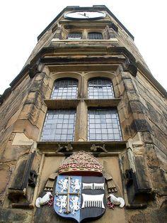 ✯ Clock Tower - Durham Castle, Durham, England