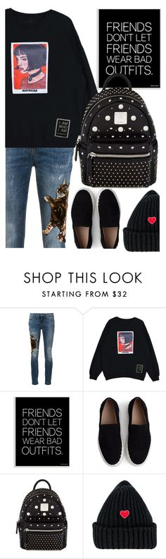 """""""Matilda"""" by luckytania on Polyvore featuring Dolce&Gabbana, Stupell, Chloé, MCM and simple"""