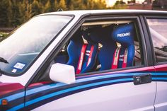 Pick your Poison: Two Delta Integrales For Sale In Atlanta - Petrolicious Pick Your Poison, Martini Racing, Porsche, Car Seats, Atlanta, Car Seat, Porch