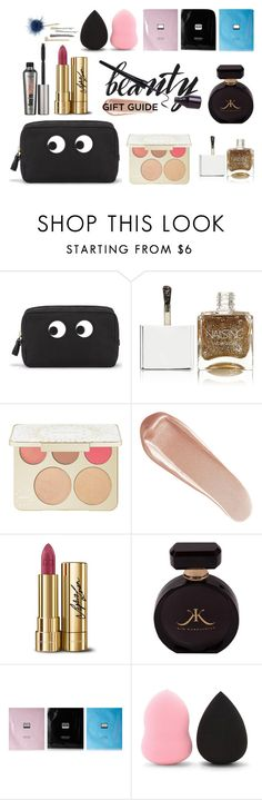 """""""Untitled #309"""" by titisww ❤ liked on Polyvore featuring beauty, Anya Hindmarch, Nails Inc., Becca, NARS Cosmetics, Dolce&Gabbana, Benefit, Erno Laszlo, Forever 21 and ABS by Allen Schwartz"""