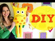 DIY Almofada de Girafa - YouTube