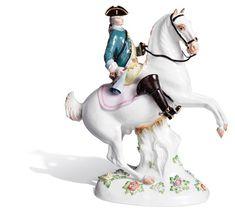 Jäger zu Pferde, H 27 cm