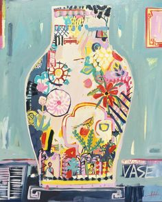 Anna Hymas | Artwork | Saatchi Art Paintings I Love, Original Paintings, Portrait Paintings, Art Paintings, Contemporary Wall Art, Contemporary Artists, Oil Painting On Canvas, Acrylic Paintings, Painting Pots