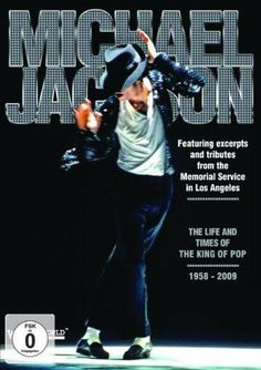 MICHAEL JACKSON The Life And Times Of The King Of Pop 1958-2009 DVD