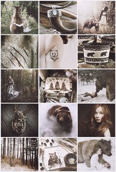 Bear Witch aesthetic