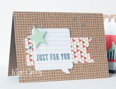 Stampin' Cards And Memories hip hip hooray card kit