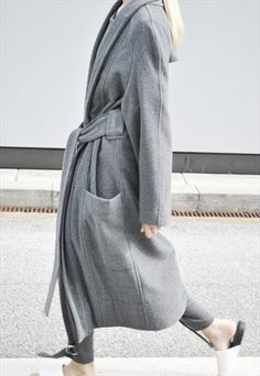 Utopia wrap coat  from HOUSE OF SUNNY #coat #jacket #covet.me