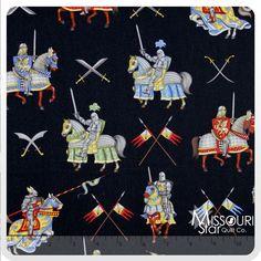 Enchanted Kingdom - Knight Yardage from Missouri Star Quilt Co