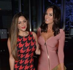 Casey Batchelor and Vicky Pattison Night Out in Mayfair : Global Celebrtities (F) FunFunky.com