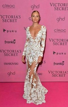 Candice in zuhair  Murad . Victoria  secret