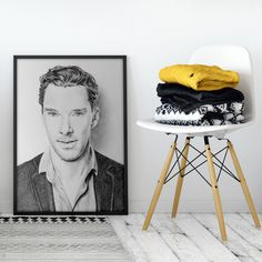 Benedict Cumberbatch Portrait Drawing, Photo to Sketch, Pencil Sketch. Photo Sketch, Benedict Cumberbatch, Handmade Art, Personalized Gifts, Art Pieces, Pencil, Portrait, Drawings, Artwork