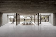 Waterside Buddist Shrine in China by ARCHSTUDIO | http://www.yellowtrace.com.au/archstudio-waterside-buddist-shrine-china/