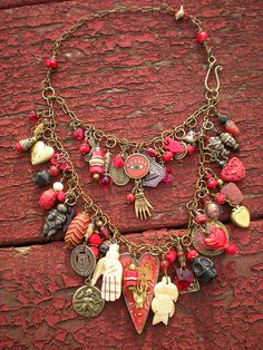 Design your own photo charms compatible with your pandora bracelets. Fifty Shades of Red by maggiezees on Etsy charm, amulet, heart necklace Boho Jewelry, Jewelry Crafts, Jewelry Art, Beaded Jewelry, Vintage Jewelry, Handmade Jewelry, Jewelry Design, Jewellery, Hand Gestempelt