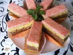 TutiReceptek és hasznos cikkek oldala: Rumos szelet Hungarian Desserts, Cheesecake, Fish, Meat, Hungary, Cheesecakes, Pisces, Cherry Cheesecake Shooters