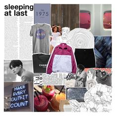 """♡ love is a high, we feelin' alive"" by flaw-in-my-code ❤ liked on Polyvore featuring Enchanté, NLXL, Uniqlo, Chanel, adidas, NARS Cosmetics, chissene, Brinkhaus, Le Labo and Davines"