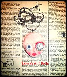 Unless I'm late for my Valentine again!!! Sahra's Art dolls, 2015