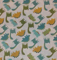 Dinosaur Nursery Fabric By The Yard FBTY by CutiePieCraftSupply