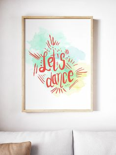 Super fun hand-lettered art print. Ships in time for Xmas PLUS 25% off with code CELEBRATE17! Click thru to get yours!