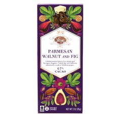 Parmesan Walnut and Fig Chocolate Bar – Vosges Haut-Chocolat Cacao Chocolate, Chocolate Cherry, Cherry Bars, California Walnuts, Fig Bars, Roasted Walnuts, Apples And Cheese, Ring Doorbell