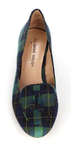Preppy tartan flats. I think JOrdan would love this. Something special. A way we match.