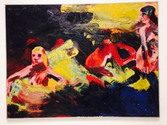 Joan Brown, Bay area Figurative Painter & badass with a canvas