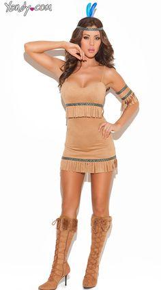 Spirit Indian Warrior Costume