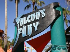 #FalconsFury #BuschGardens  Informações Oficiais