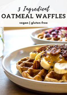 Vegan Paleo Coconut Flour Waffles Recipe Food Coconut