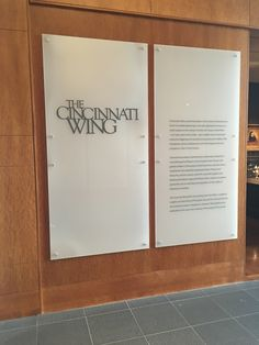 Welcome to the Cincinnati Art Museum, Cincinnati Wing.