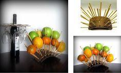 Original way of serving fruits.