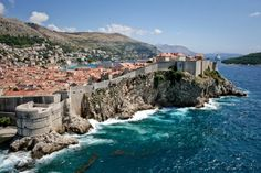 The Famous walled town of Dubrovnik lies in the south of Croatia on the Adriatic coast.  What a gem!