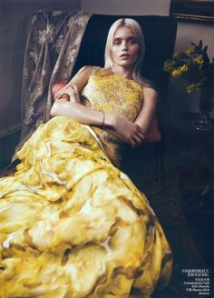 Abbey Lee Kershaw VOGUE China. Photographer Lachlan Bailey