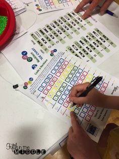 Two fun STEM ideas to get kids thinking about DNA sequences and binary codes.