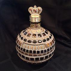 My mosaic  Chambord bottle