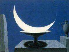 René Magritte - La Fenêtre de Mélusine, 1953