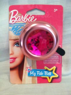 Barbie MY FAB BELL Bicycle Bike Pink