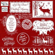 Fun Tutorial showing how to reverse and change black stamps to white or color for the holidays using Deer Christmas and Christmas Tree Digital Sets from Crafty Secrets. Note, you need to use PNG images and can use Photoshop Elements , Paint.net , Gimp for Macs or similar photo editing software.