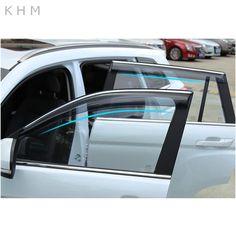 f4fc0975248 All Car Window Rain Shield Shelters Cover ABS Sun Window Visor For Renault  Koleos