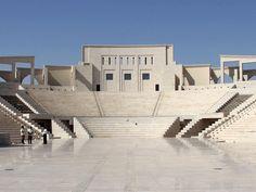 Inside the Katara amphitheatre
