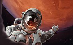 Pocket Mars, Jarosław Wajs on ArtStation at https://www.artstation.com/artwork/nB2YO